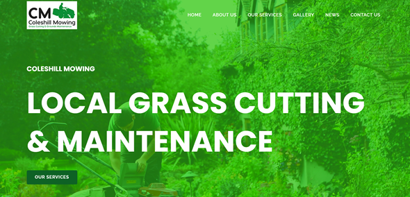 coleshill mowing webpage